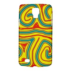 Colorful decorative lines Galaxy S4 Active