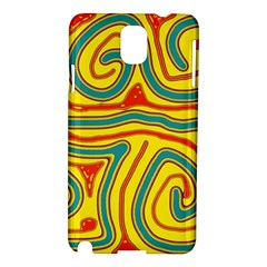 Colorful decorative lines Samsung Galaxy Note 3 N9005 Hardshell Case