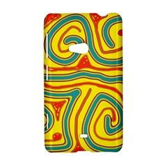 Colorful decorative lines Nokia Lumia 625