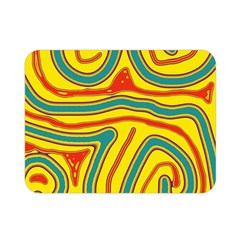 Colorful decorative lines Double Sided Flano Blanket (Mini)