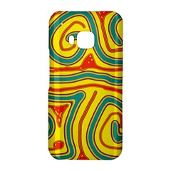 Colorful decorative lines HTC One M9 Hardshell Case