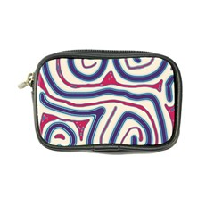 Blue and red lines Coin Purse