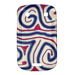 Blue and red lines Bold Touch 9900 9930