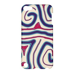 Blue and red lines Apple iPod Touch 5 Hardshell Case
