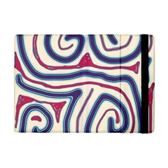 Blue and red lines Apple iPad Mini Flip Case