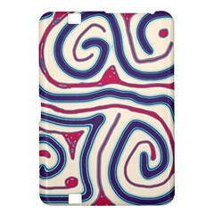 Blue and red lines Kindle Fire HD 8.9