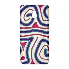 Blue and red lines HTC One Mini (601e) M4 Hardshell Case