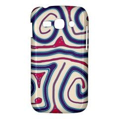 Blue and red lines Samsung Galaxy Ace 3 S7272 Hardshell Case