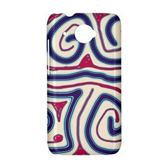 Blue and red lines HTC Desire 601 Hardshell Case