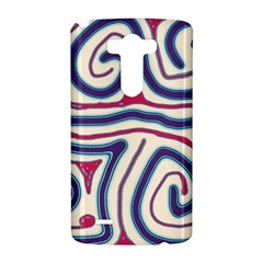 Blue and red lines LG G3 Hardshell Case