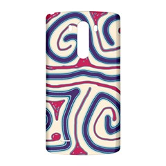 Blue and red lines LG G3 Back Case