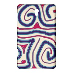 Blue and red lines Samsung Galaxy Tab S (8.4 ) Hardshell Case
