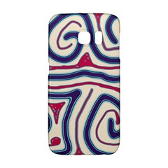 Blue and red lines Galaxy S6 Edge