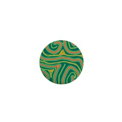 Green and orange lines 1  Mini Buttons