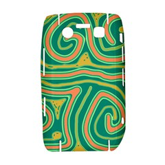 Green and orange lines Bold 9700