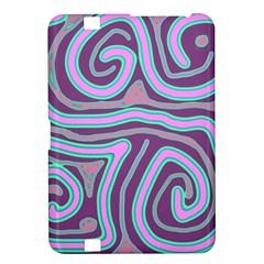 Purple lines Kindle Fire HD 8.9