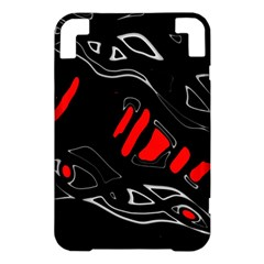 Black and red artistic abstraction Kindle 3 Keyboard 3G