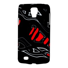 Black and red artistic abstraction Galaxy S4 Active