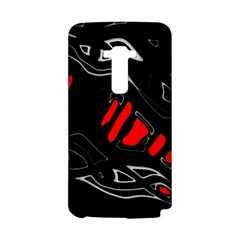 Black and red artistic abstraction LG G Flex