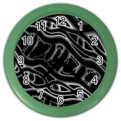 Black and white decorative design Color Wall Clocks