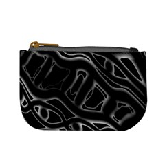 Black and white decorative design Mini Coin Purses