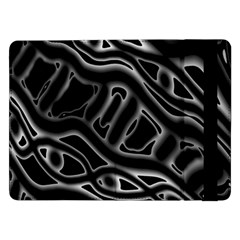 Black and white decorative design Samsung Galaxy Tab Pro 12.2  Flip Case