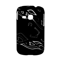 Black and white Samsung Galaxy S6310 Hardshell Case