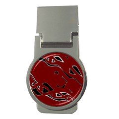 Decorative abstract art Money Clips (Round)