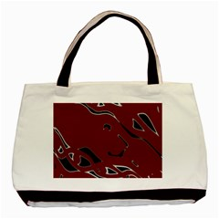 Decorative abstract art Basic Tote Bag