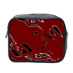 Decorative abstract art Mini Toiletries Bag 2-Side