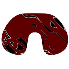 Decorative abstract art Travel Neck Pillows