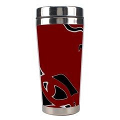 Decorative abstract art Stainless Steel Travel Tumblers