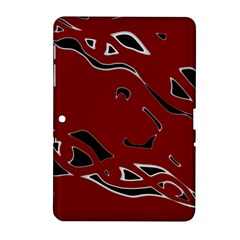 Decorative abstract art Samsung Galaxy Tab 2 (10.1 ) P5100 Hardshell Case