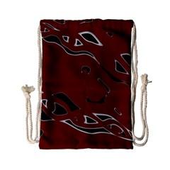 Decorative abstract art Drawstring Bag (Small)