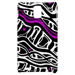 Purple, black and white abstract art Samsung Infuse 4G Hardshell Case