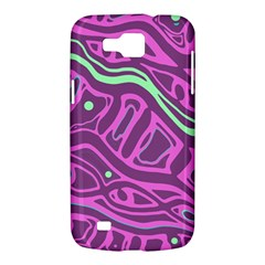 Purple and green abstract art Samsung Galaxy Premier I9260 Hardshell Case