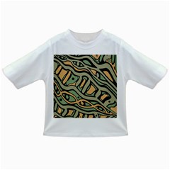 Green abstract art Infant/Toddler T-Shirts