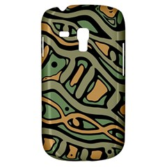 Green abstract art Samsung Galaxy S3 MINI I8190 Hardshell Case