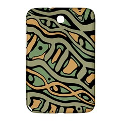 Green abstract art Samsung Galaxy Note 8.0 N5100 Hardshell Case