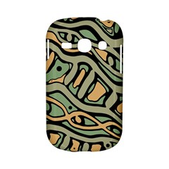 Green abstract art Samsung Galaxy S6810 Hardshell Case