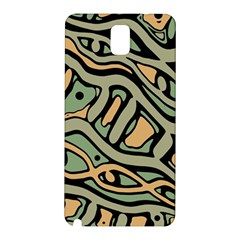 Green abstract art Samsung Galaxy Note 3 N9005 Hardshell Back Case