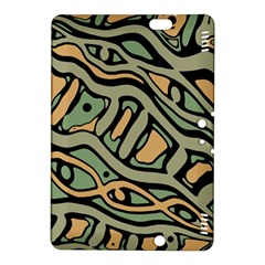 Green abstract art Kindle Fire HDX 8.9  Hardshell Case