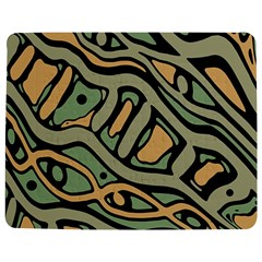 Green abstract art Jigsaw Puzzle Photo Stand (Rectangular)