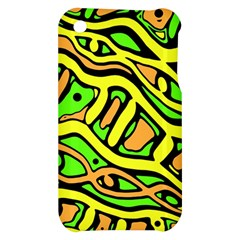 Yellow, green and oragne abstract art Apple iPhone 3G/3GS Hardshell Case