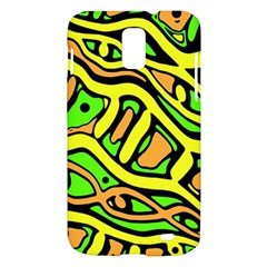 Yellow, green and oragne abstract art Samsung Galaxy S II Skyrocket Hardshell Case