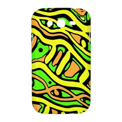Yellow, green and oragne abstract art Samsung Galaxy Grand DUOS I9082 Hardshell Case