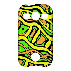 Yellow, green and oragne abstract art Samsung Galaxy S7710 Xcover 2 Hardshell Case