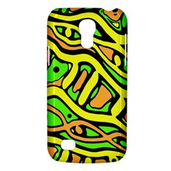 Yellow, green and oragne abstract art Galaxy S4 Mini