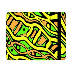 Yellow, green and oragne abstract art Samsung Galaxy Tab Pro 8.4  Flip Case