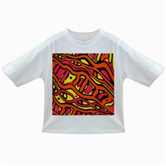 Orange hot abstract art Infant/Toddler T-Shirts